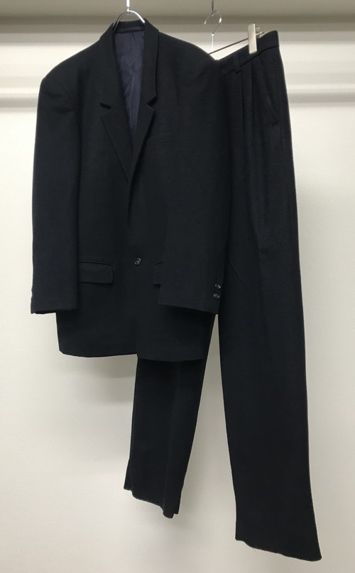 1980s ISSEY MIYAKE 2PC TAILORED JACKET Z+ WIDE LEG TROUSERS