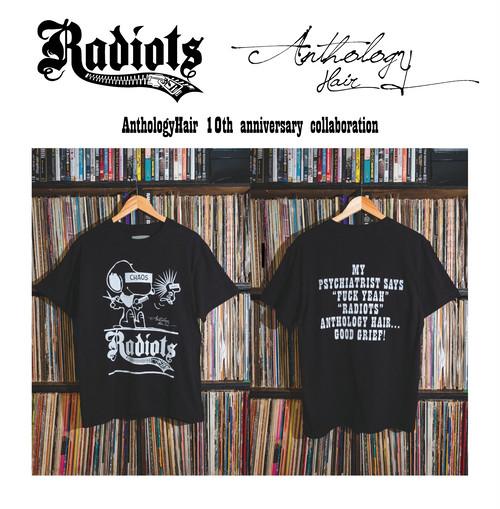 [予約商品] RADIOTS×AnthologyHair  T-shirts / Black...
