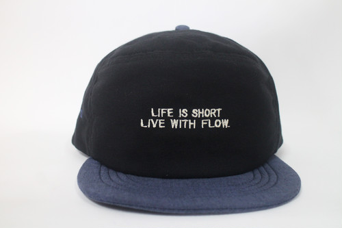 リネンエクスプローラーCAP LIFE IS SHORT LIVE WITH FLOW