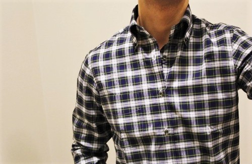 CADETTO ORIGINALS Tartan Check Button-down Shirts