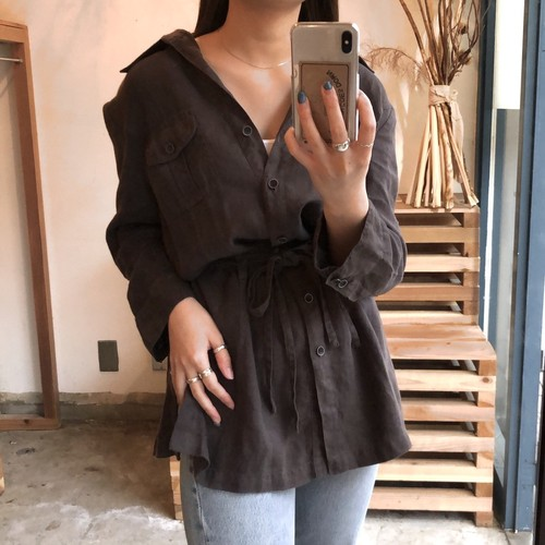 light cotton shirt jacket