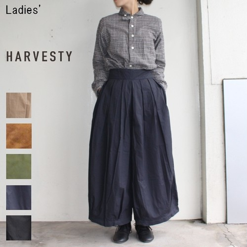HARVESTY サーカスキュロット CIRCUS CULOTTES A21609 (NAVY)