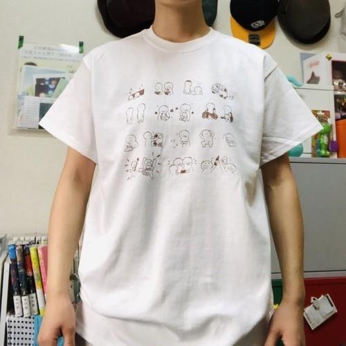 たけおTシャツ ライブの日ver