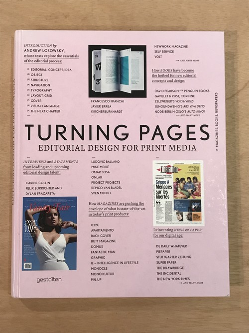 TURNING PAGES EDITORIAL DESIGN FOR PRINT MEDIA