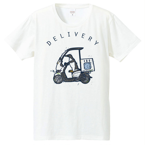 [Tシャツ] Delivery Penguin