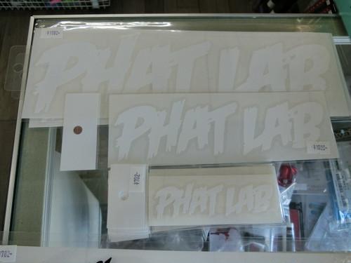 PHATLAB カッティングステッカー大30cm 税込1782円