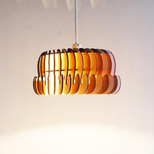 「ぞう」木製ペンダントライト