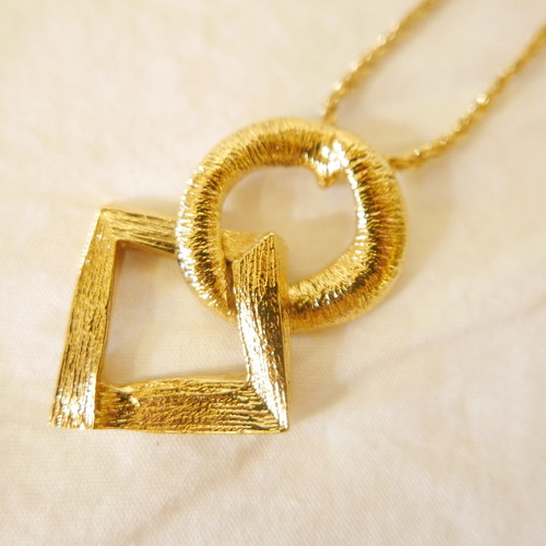 "YSL ""〇◇"" Necklace"