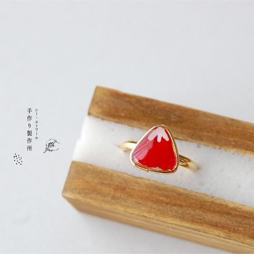 赤富士ピンキーリング フリーサイズ