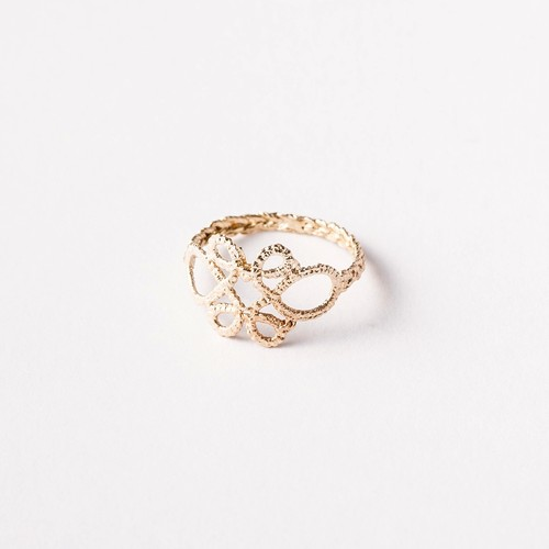 Yularice Lace ring#1 K10Gold