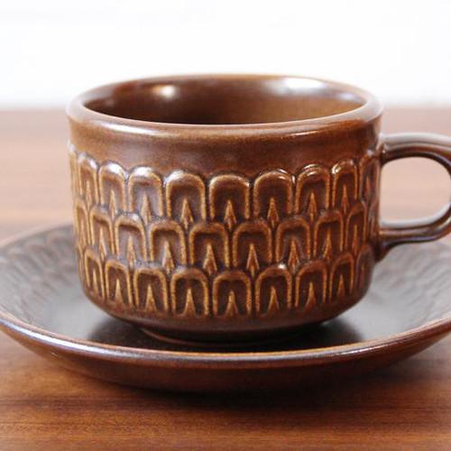 1960~70年代 イギリス製 Wedgwood Pennine カップ&ソーサー ウェッジウッド ペンニン ペナイン