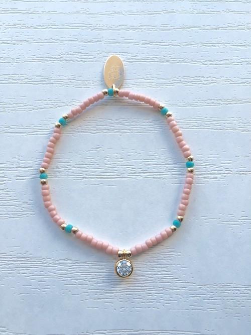 Rose×Blue ciel bracelet
