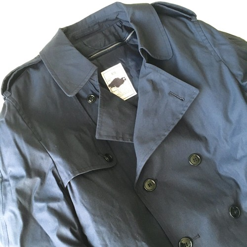 U.S.AIR FORCE : 14's trench coat / 42L (dead stock)