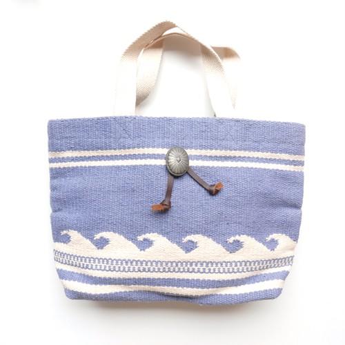 Wave Border Bag-gray-