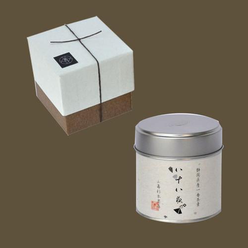 八十八夜の茶ティーバッグ 小缶1本箱