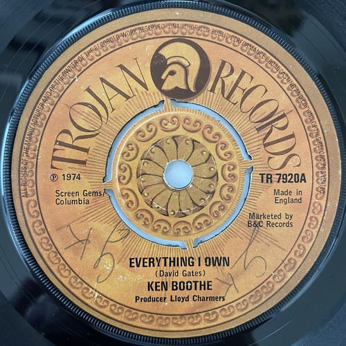 Ken Boothe - Everything I Own【7-20784】