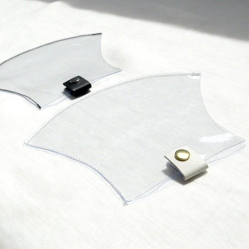 PVCマスクカバー (white / black)