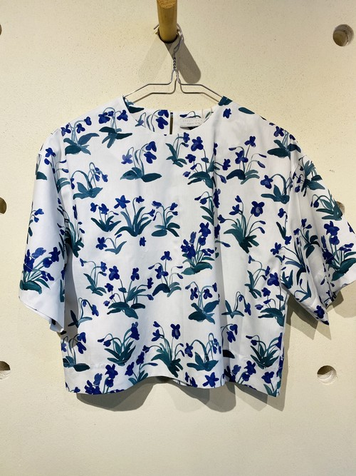 otsukiyumi  harf sleeve  shirt(sumire )