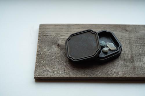真鍮の『小箱』黒ムラ
