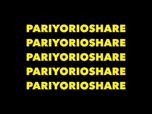 PARIYORIOSHARE T(ブラック)