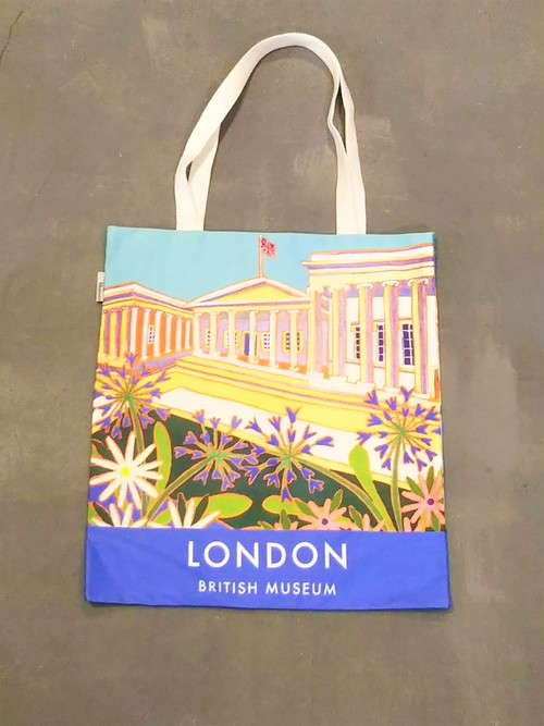 The British Museum  Landscape pattern tote bag /Made In the U.K. [B-363]