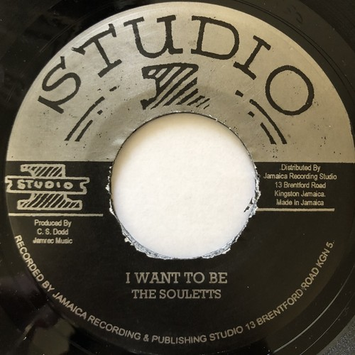 The Soulettes - I Want To Be【7-20597】