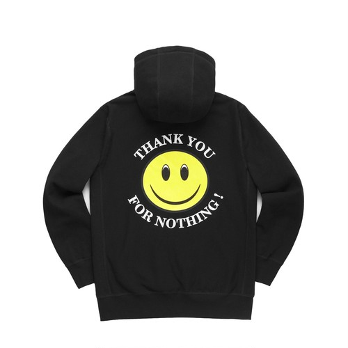 NOTHIN'SPECIAL THANK YOU PULLOVER HOODIE / BLACK