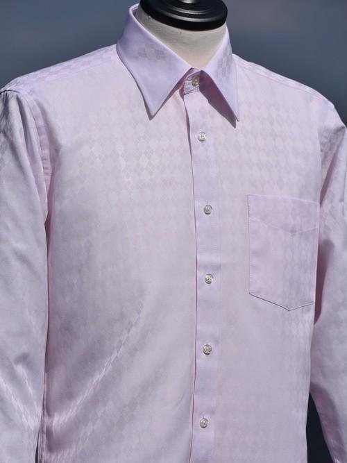 アーガイル柄シャツ(ピンク) R411R