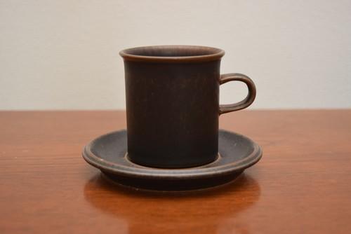 アラビアルスカコーヒーカップ&ソーサー⑥【ARABIA/Ruska | ALKU