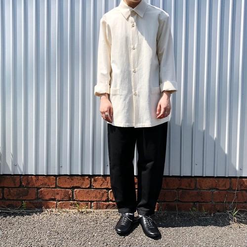 オーガニックコットンクレープ シャツジャケット   THE HINOKI
