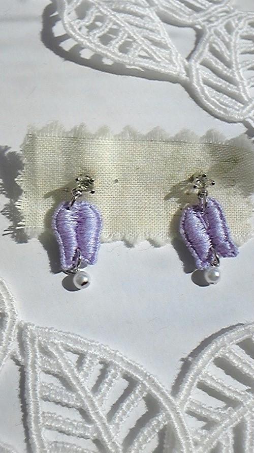 *紫の小花*