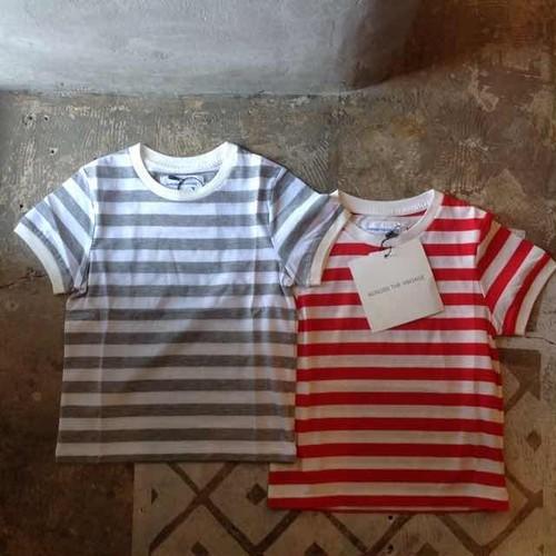 ACROSSTHEVINTAGE   border T shirt