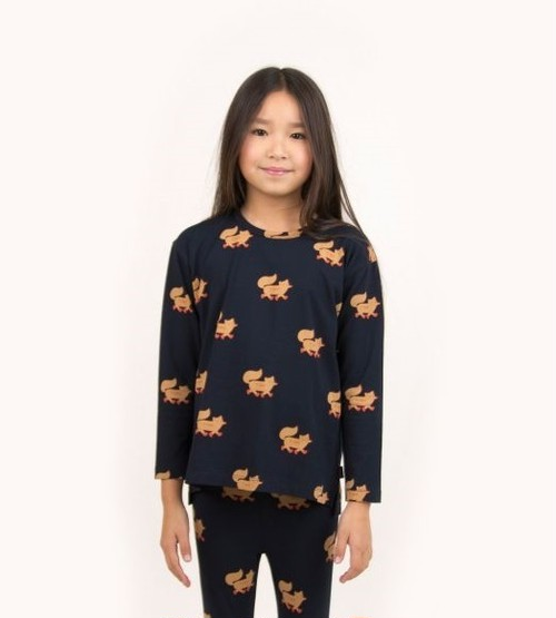 """TINYCOTTONS タイニーコットンズ """"FOXES"""" TEE size:2Y(95-100)-6Y(110-120)"""