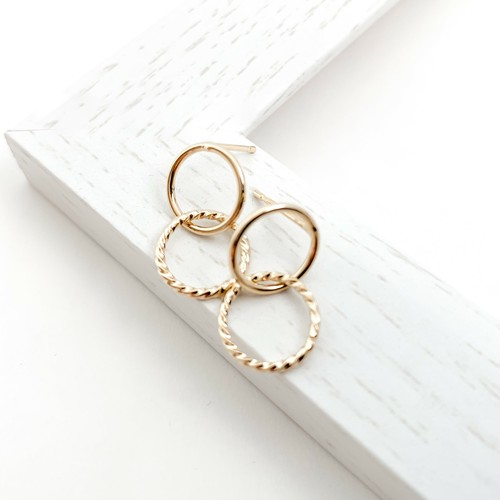 doble ring pierces n456