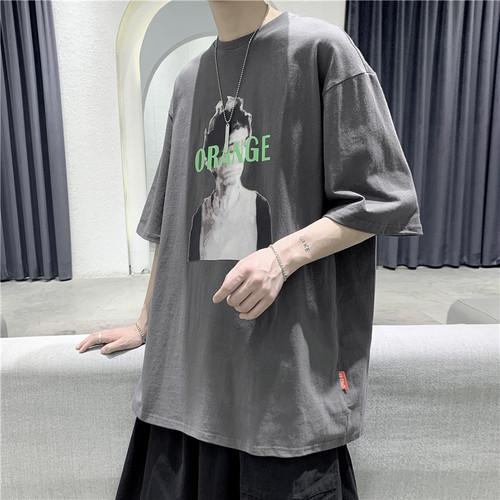 アートプリントTシャツ BL5893