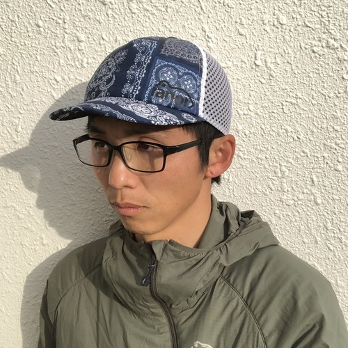 ranor / BANDANA MESH CAP 《Indigo》