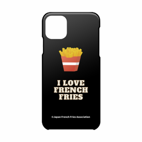 [ iPhone 11 Pro Max ] スマホケース(I LOVE FRENCH FRIES)
