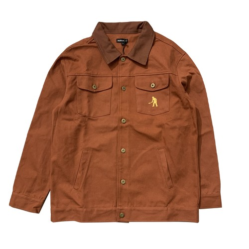 PASS PORT / WOKERS LATE JACKET -BROWN-