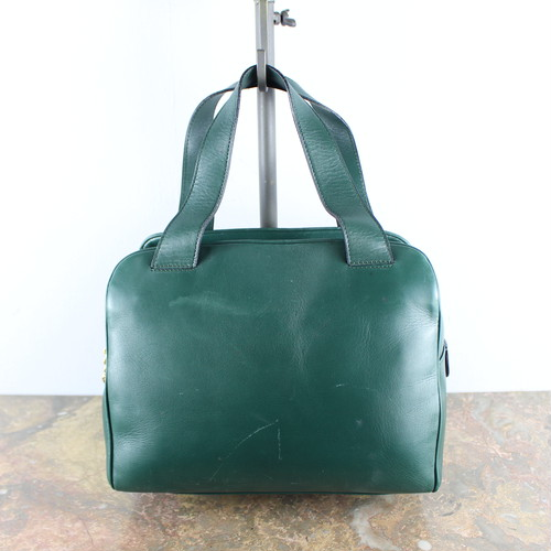 .OLD CELINE CIRCLE LOGO LEAYHER HAND BAG MADE IN ITALY/オールドセリーヌサークルロゴレザーハンドバッグ 2000000046679