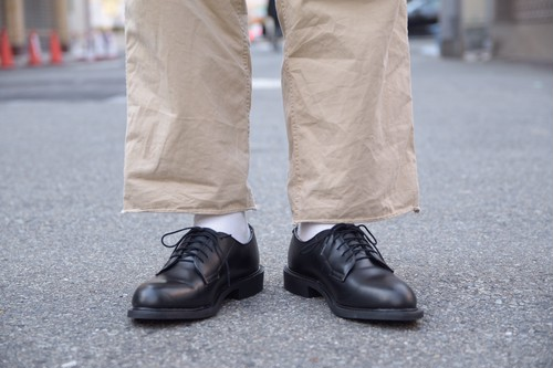 US NAVY 80's OXFORD DRESS SHOES