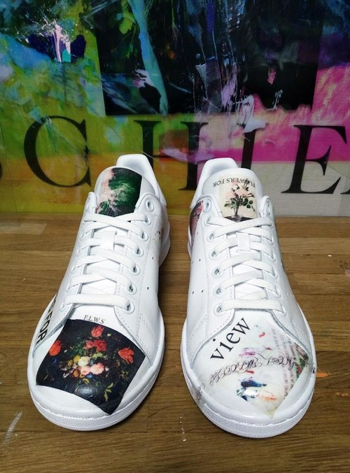 collage sneaker(adidas:Stan Smith)