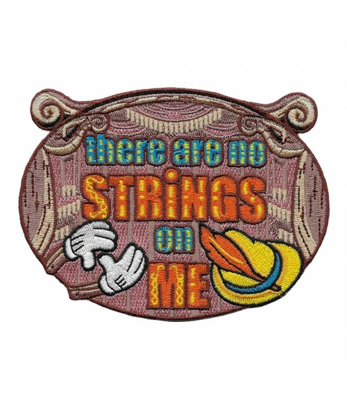"""labarbuda""""THERE ARE NO STRINGS ON ME PATCH BY LA BARBUDA"""""""