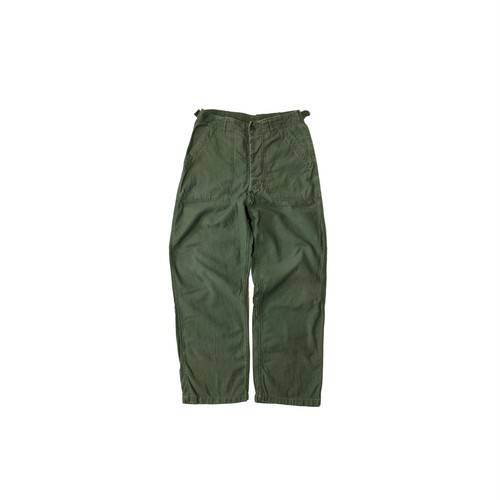 """60's """"US ARMY"""" EARLY TYPE COTTON SATEEN FATIGUE PANTS"""