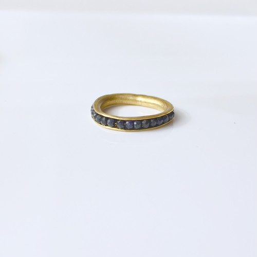 Hold Ring / sapphire / M