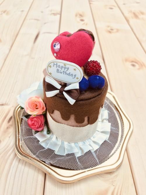 ケーキ型シルクハット チョコレートVer.