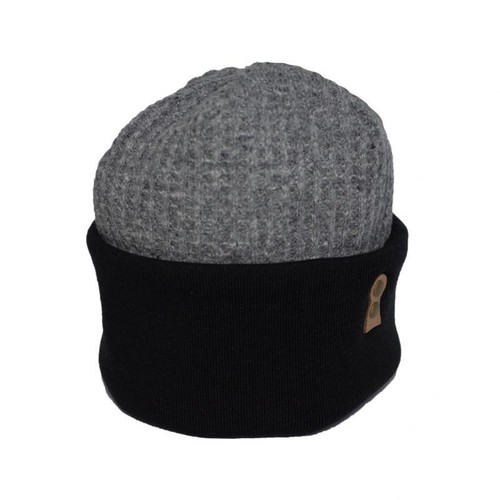 Original John | KNIT CAP - Black/Grey [HTB381]