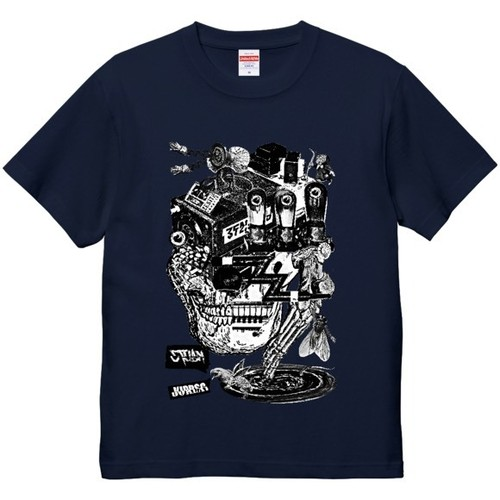 """""""dib"""" 【CYCLE OF THOUGHT】GRAPHIC T-SHIRT"""