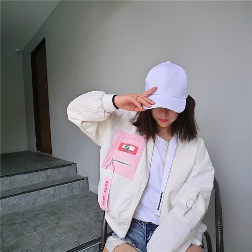 【新作10%off】pocket point baseball jacket 2973