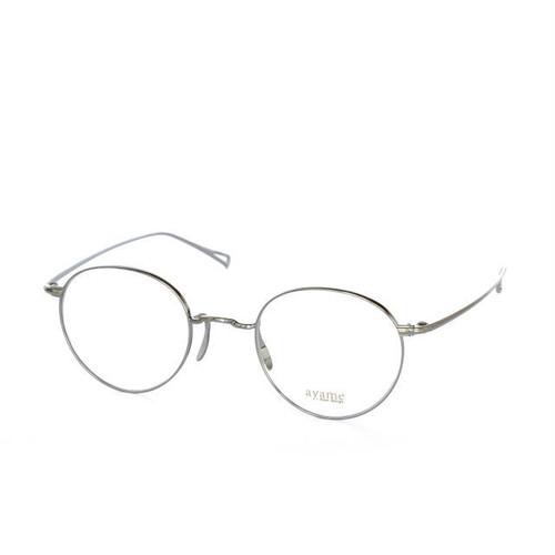 ayame:アヤメ 《MANRAY -マンレイ col.Silver》  眼鏡 ボストン