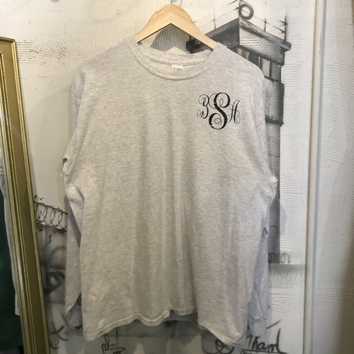 long sleeve print T-shirt